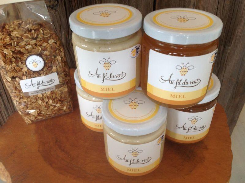 miel et granola-miel 1