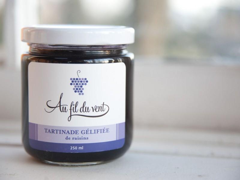 Tartinade gélifiée de raisins bleus 2